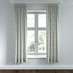 Helena Springfield - Light blue polycotton 'Belle' lined curtains