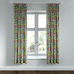 Helena Springfield - Multicoloured polycotton 'Bonnie' lined curtains
