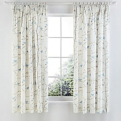 Sanderson - Light blue 'Dawn Chorus' curtains