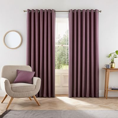 muriva drapes purple