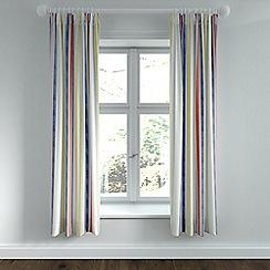 Helena Springfield - Light blue polycotton 'Roxy' lined curtains