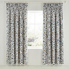 Sanderson - Multicoloured cotton sateen Sanderson Options 'Sita' lined curtains