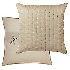 Harlequin - Natural 'Odetta' square pillow case