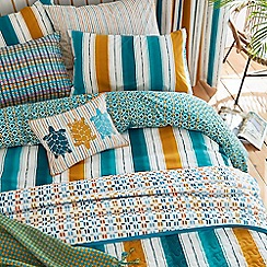 Helena Springfield - Deep blue polycotton 'Amalfi Oceanic' bedding set