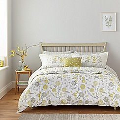 Sanderson - Light grey cotton Sanderson Home 'Batik Garden' bedding set
