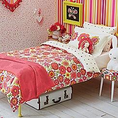 Scion Kids - White floral 'Bloomin Lovely' bedding set
