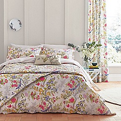V & A - Multicoloured cotton 'Chinese Bluebird' bedding set