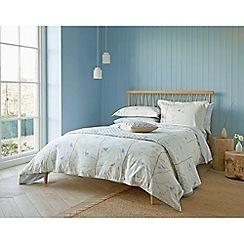 Sanderson - Light blue cotton Sanderson Home 'Dawn Chorus' bedding set