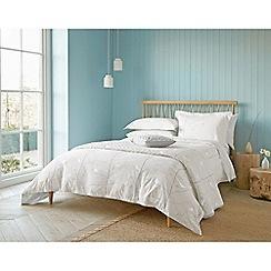 Sanderson - Silver cotton Sanderson Home 'Dawn Chorus' bedding set