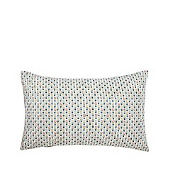 Helena Springfield - Green Polycotton 'Dottie April' Standard Pillow Cases