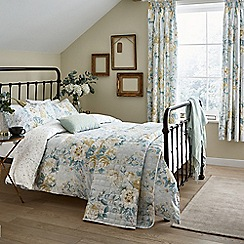 Sanderson - Light blue cotton Sanderson Options 'Giselle' bedding set