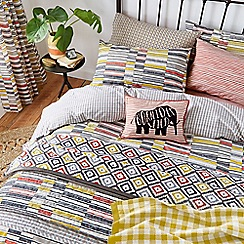 Helena Springfield - Multicoloured polyester and cotton 'Mali' bedding set