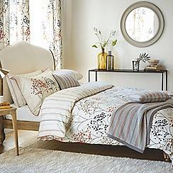 Sanderson - Grey cotton Sanderson Home 'Pippin' bedding set