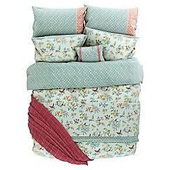 Helena Springfield - Light blue polycotton 'Tilly' bedding set