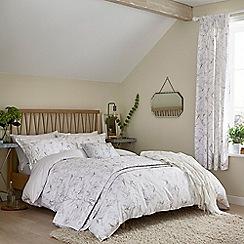 Sanderson - Light grey cotton Sanderson Options 'Tuileries' bedding set