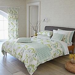 Sanderson - Light blue cotton Sanderson Home 'Wisteria Blossom' bedding set