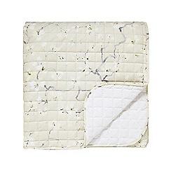 Sanderson - Natural cotton Sanderson Options 'Anthea' bedspread