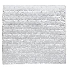 Sanderson - Grey cotton and polyester Sanderson Options 'Ida Blossom' throw