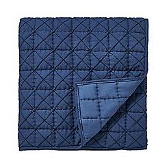 Bedeck 1951 - Dark blue cotton 'Juma' quilted throw