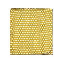 Scion - Mustard cotton 'Noukku' throw