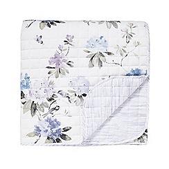 Sanderson - Multicoloured cotton Sanderson Options 'Rhodera' bedspread