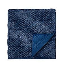 Bedeck 1951 - Dark blue  cotton 'Tamar' quilted throw