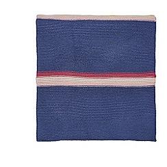 Scion - Multicoloured acrylic 'Eloisa' knitted throw