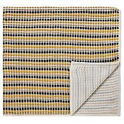 Scion - Multicoloured acrylic 'Kukkia' knitted throw