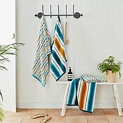Helena Springfield - Dark blue cotton 'Amalfi' towels