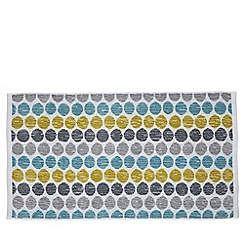Helena Springfield - Light blue cotton 'Belle Spot' towels