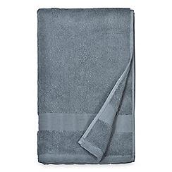 DKNY - Blue cotton 'Mercer' towels