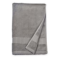 7ebb3a34569 DKNY - Grey cotton  Mercer  towels