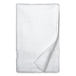 DKNY - White cotton 'Mercer' towels