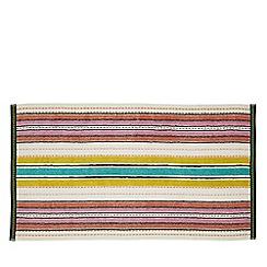 Helena Springfield - Multicoloured cotton 'Roxy Stripe Citrus' towels