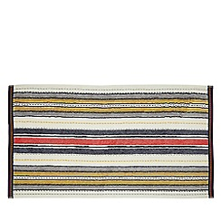 Helena Springfield - Multicoloured cotton 'Roxy Stripe Denim' towels