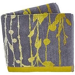 Clarissa Hulse - Mustard Cotton Terry 'St Lucia' Towels