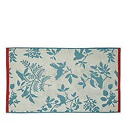 Helena Springfield - Light blue cotton 'Tilly Birds' towels