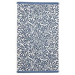 Morris & Co - Light blue 'Willow' towels