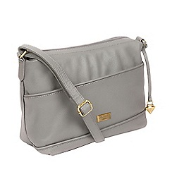 Cultured London - Silver Grey  Duana  Handmade Leather Shoulder Bag 17869f3e9cc27