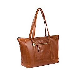 Made by Stitch - Bourbon 'Ellis' handmade leather tote bag