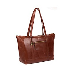 eeea342d2591 Made by Stitch - Whisky  Ellis  handmade leather tote bag
