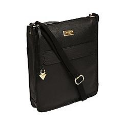 04f1fd10e7a8 Cultured London - Black  Beth  Handmade Leather Cross-Body Bag