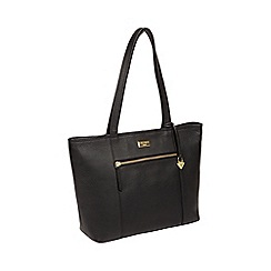 53489bb25d76 Cultured London - Black  Dawn  Handmade Leather Tote Bag