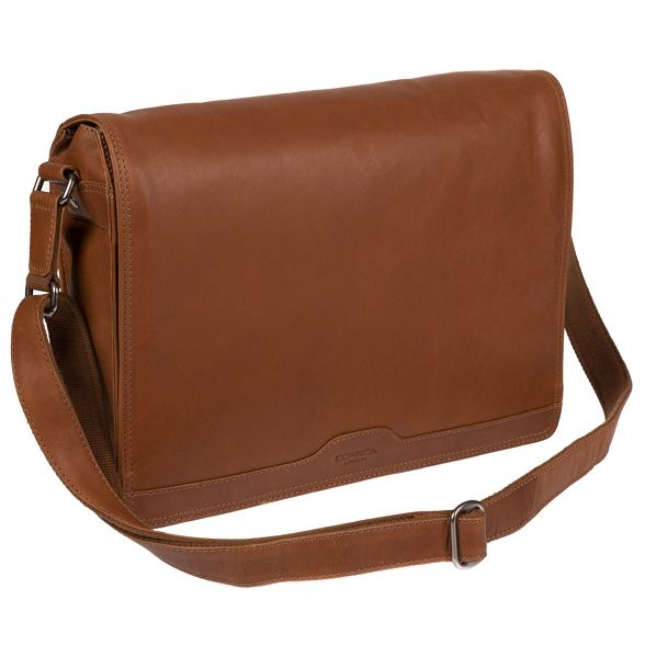 Conkca bag Whiskey messenger leather London handcrafted 'Islington' SSFq6