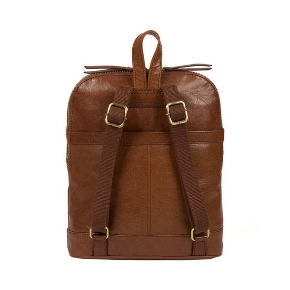 brown backpack 'Francisca' London Conkca handcrafted Conker leather 8qwFwT
