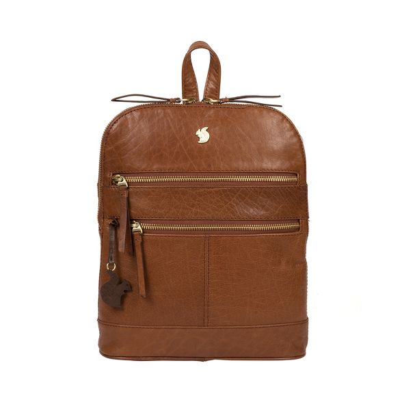 London brown 'Francisca' Conkca leather Conker backpack handcrafted dq1aaET