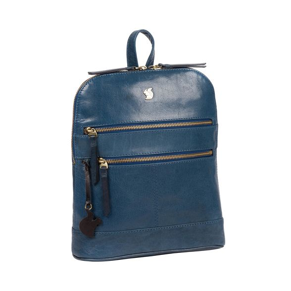 London leather 'Francisca' Snorkel blue Conkca backpack handmade dCqUdBfxwn