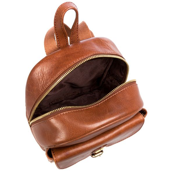 backpack Conker brown London 'Eloise' Conkca handcrafted leather Ynq7wZ5E5