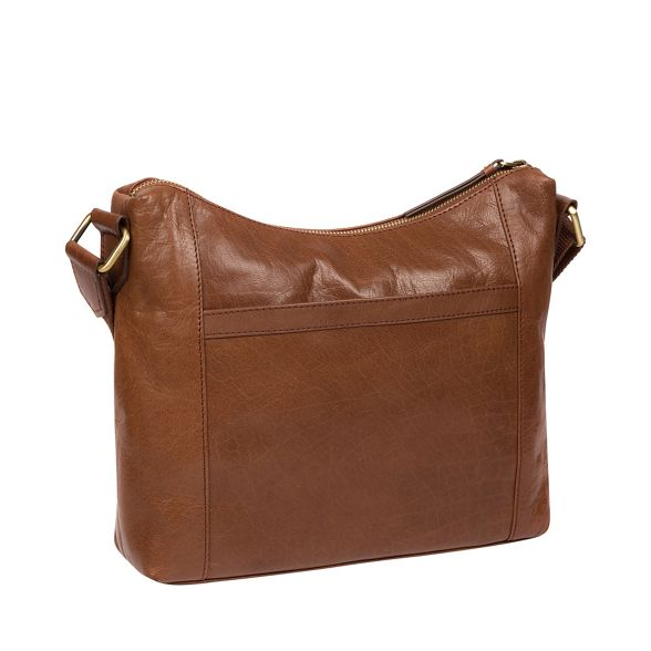 'Georgia' leather Conker London handbcrafted Conkca brown bag Xtgqpfw
