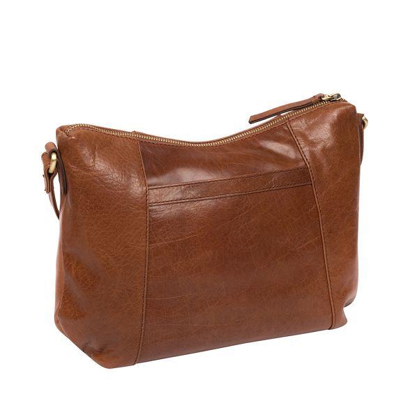 Conkca leather bag brown London Conker 'Esta' handcrafted zznHf76